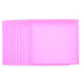 Bubbeltjes envelop - roze - 25x25cm per stuk