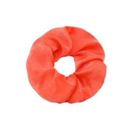 Scrunchie Soft As Satin - oranje