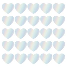 SOW & GROW Hearts holografisch - 10 stuks
