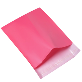 Verzendzak large roze - per stuk