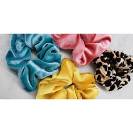 Scrunchie Color Power - geel