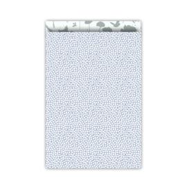 Spring Cubes - blauw/salie