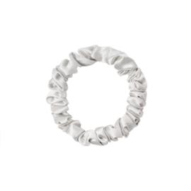 Scrunchie Lovely klein - zilver