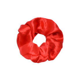 Scrunchie sweet as satin - rood