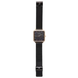 Horloge Quartz - zwart