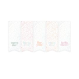SOW & GROW vaantjes - holografische folie - 10 stuks