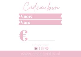 Cadeaubon - €15