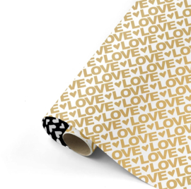 Love Letters goud/zwart