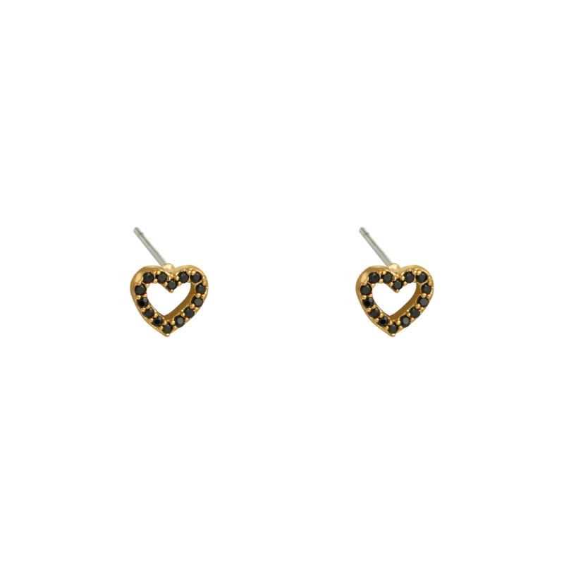 Mini Heart - goud