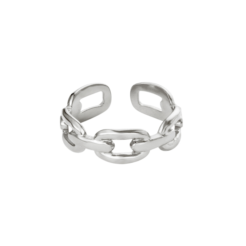 Oval Chain - zilver