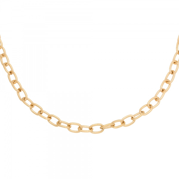 Chiseled Chain - goud