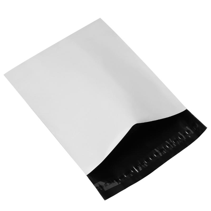Verzendzak large wit - per stuk