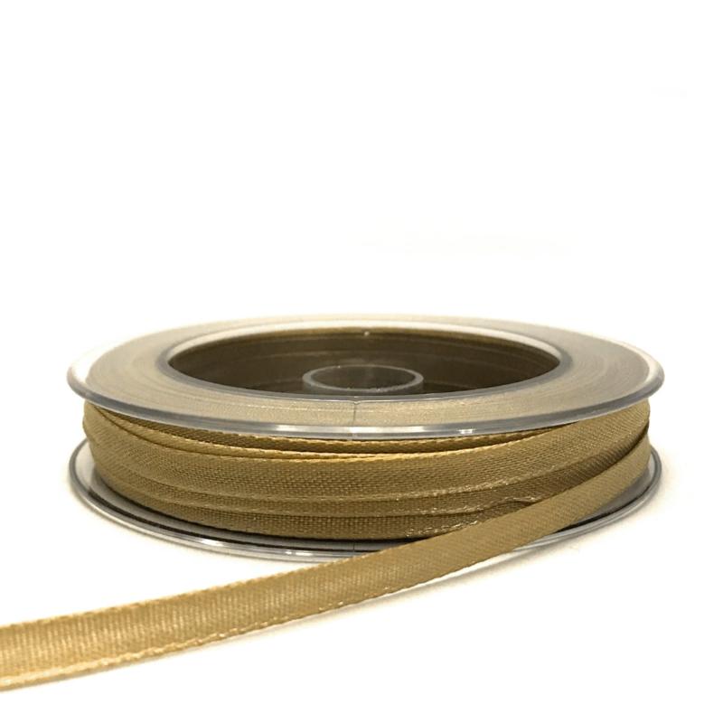 Satijnlint goud - 4 meter