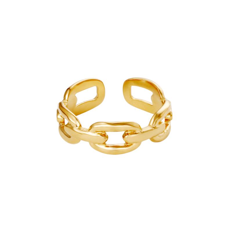 Oval Chain - goud