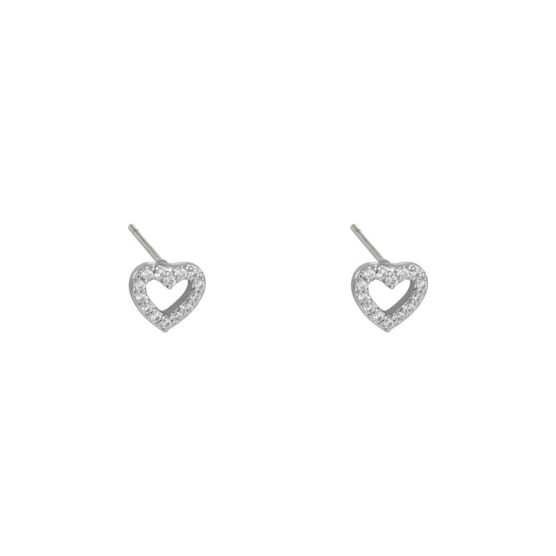 Mini Heart - zilver