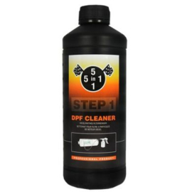 5in1 DPF cleaner Step 1