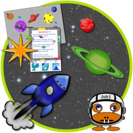 PRINT ZELF UIT! De ruimtemonsters en de vallende ster