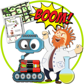 PRINT ZELF UIT! Het gevaarlijke Robo virus SPEUR-ESCAPE