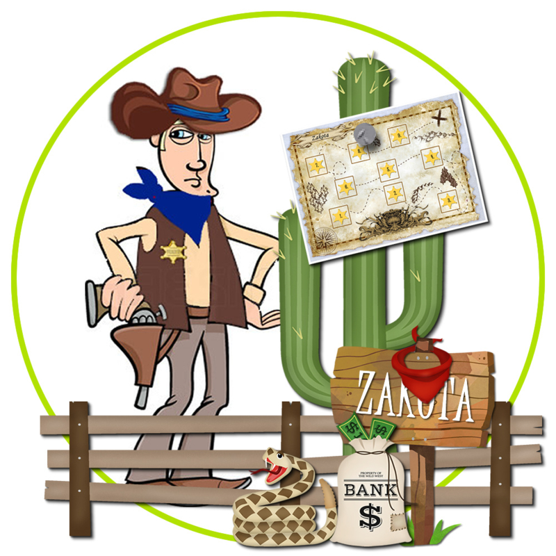 Sheriff Dunne Mike en de Cactusbroers