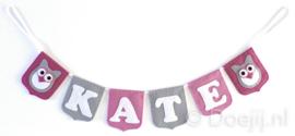 Naamslinger voor Kate, Uiltje