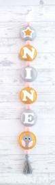 Naamhanger voor Nine, Dubbele ster, Uil