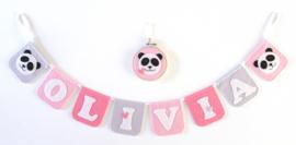 Naamslinger voor Olivia, Panda