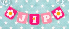 Naamslinger voor Jip, Bloem
