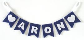 Naamslinger mini voor Aron, Hartje