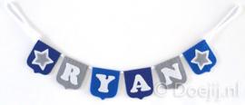 Naamslinger mini voor Ryan, Ster