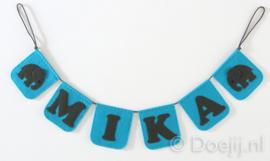 Naamslinger voor Mika, Olifantje