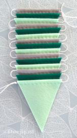 Vlaggenlijn, Groen