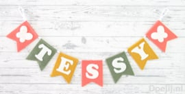 Naamslinger voor Tessy, Vlinder