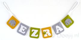 Naamslinger voor Ezra, Olifantje