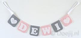 Naamslinger voor Dewi, Hartje
