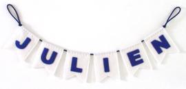 Naamslinger mini voor Julien