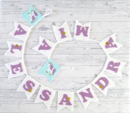Naamslinger voor Alessandra Mia, Eenhoorn