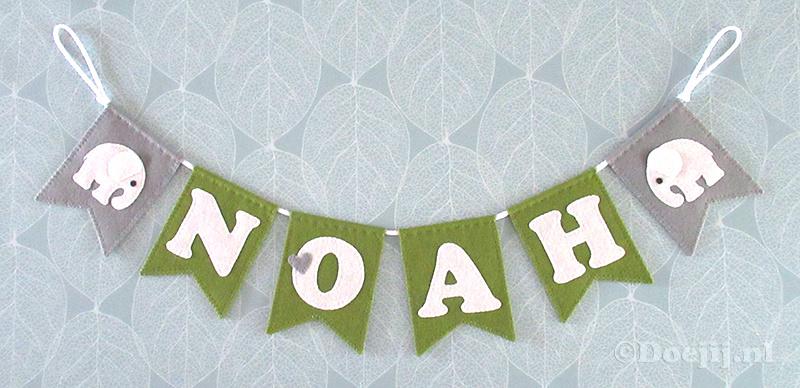 Naamslinger voor Noah, Olifantje