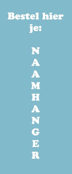 Naamhanger bestellen: