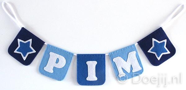 Naamslinger voor Pim, Ster