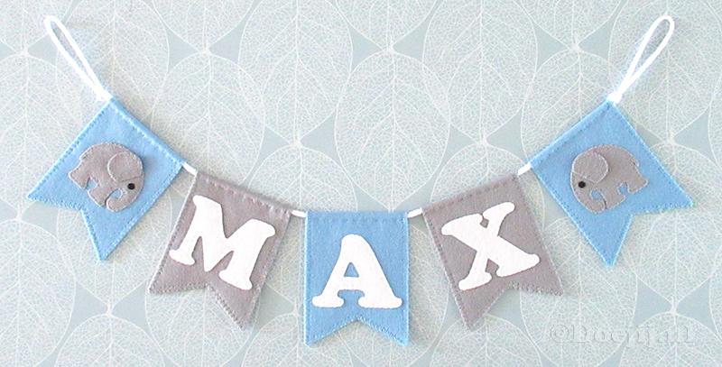 Naamslinger voor Max, Olifant