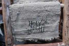 Shabbydoek kerst holy night