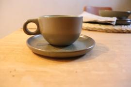 koffietas cafe lungo Surface Camogreen set van 4