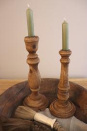 houten kandelaar klein