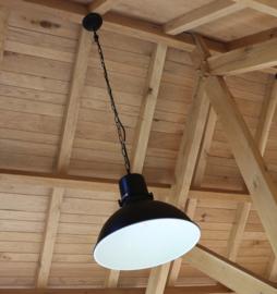 Hanglamp pendel Monroe antiek zwart