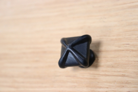 deurknop kruis zwart