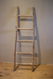 ladder hout whitewash