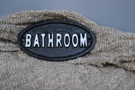 deurplaatje bathroom