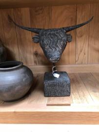 stenen stierenkop greywash