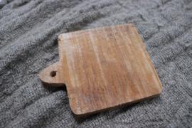 houten snijplankje