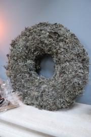 Krans grijs mos groot